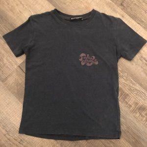 """Brandy Melville Navy """"Feelin Alright"""" Tshirt OS"""
